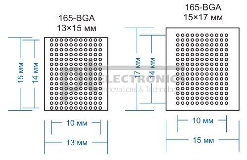 микросхемы 165-BGA