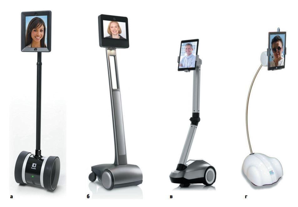 Наиболее распространенные роботы телеприсутствия