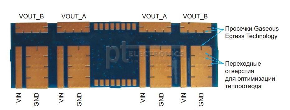 Особенности исполнения модулей TPSM831D31