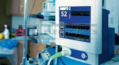 Монитор пациента с соединителем компании Smiths Connectors