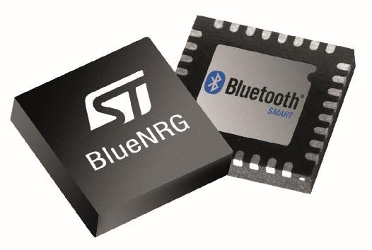 Беспроводной чип BlueNRG STMicroelectronics