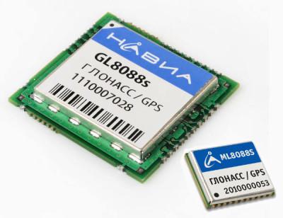 ГЛОНАСС/GPS модули НАВИА GL8088s и ML8088s