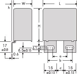 Снабберные конденсаторы серии MKP Wima