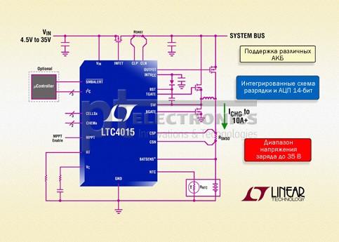 схема зарядки АКБ