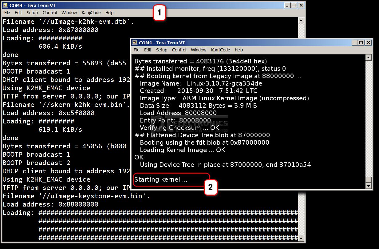 Зависание сетевой загрузки ОС Linux